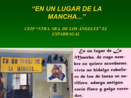 """EN UN LUGAR DE LA MANCHA..."""""""