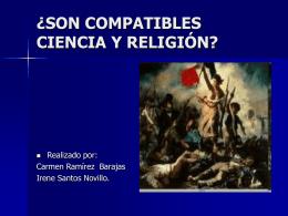 SON COMPATIBLES CIENCIA Y RELIGION