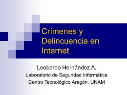 Terrorismo y Delitos Informaticos: Nueva Realidad