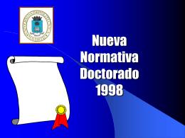 NORMATIVA DOCTORADO CONJUNTOS
