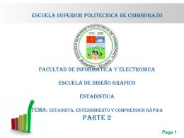 ESCUELA SUPERIOR POLITECNICA DE CHIMBORAZO …