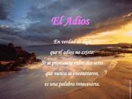 El Adios