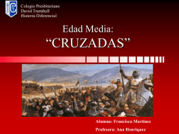 """Edad Media: """"CRUZADAS"""""""