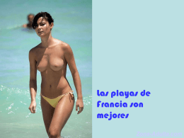 Playas de Francia.