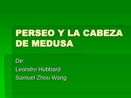 PERSEO Y LA CABEZA DE MEDUSA
