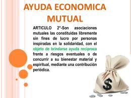 AYUDA ECONOMICA MUTUAL