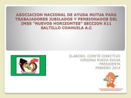 ASOCIACION NACIONAL DE AYUDA MUTUA PARA …