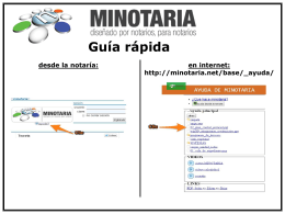 Diapositiva 1 - ::minotaria::
