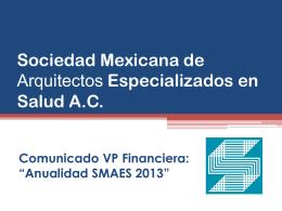 Sociedad Mexicana de Arquitectos Especializados en Salud …
