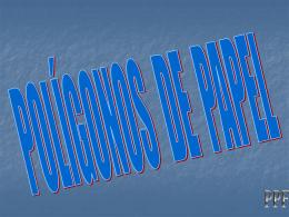POLIGONOS DE PAPEL