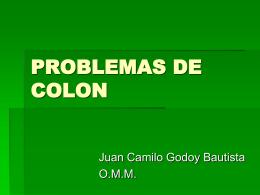 PROBLEMAS DE COLON