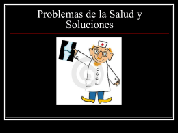 Problemas de la Salud y las Soluciones