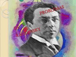 PROBLEMAS DE KANDINSKY