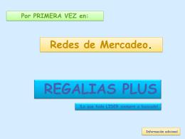 REGALIAS PARA SIEMPRE