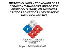 IMPACTO CLINICO Y ECONOMICO DE LA SEDACION Y …