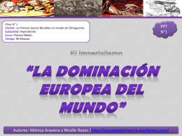 IMPERIALISMO - Historia1Imagen