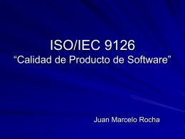 "ISO/IEC 9126"""