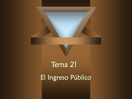Tema 21 - ::WEB DEL PROFESOR::