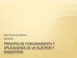 PRINCIPIO DE FUNCIONAMIENTO Y APLICACIONES DE …