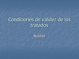 NULIDAD. CONCEPTO
