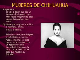 MUJERES DE CHIHUAHUA >>> >> >>> >> >> >>> >> …