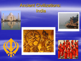 Ancient Civilizations: India and China