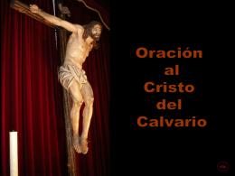 En esta tarde, Cristo del Calvario