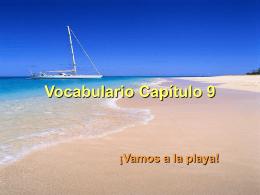 Vocabulario Capitulo11