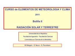 CURSO de ELEMENTOS DE METEOROLOGIA Y CLIMA …