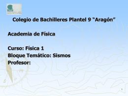 Plan de Estudios del Colegio de Bachilleres