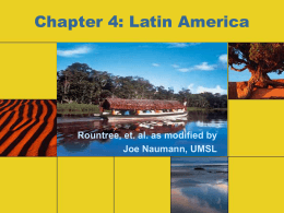Chapter 4: Latin America - University of Missouri–St. Louis