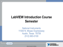 Lession 1-4 LABVIEW course tutorial