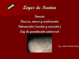 Leyes de Newton - UNAM, CCH Naucalpan