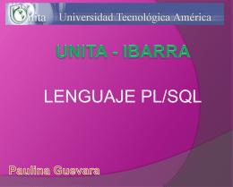 LENGUAJE PL/SQL - MisTareasUnita