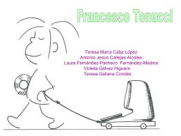 Francesco Tonucci - modelosytendencias