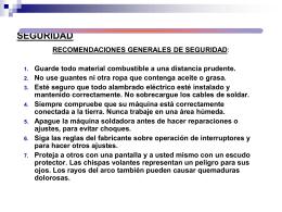 SEGURIDAD E HIGIENE EN LA SOLDADURA.