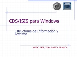 CDS/ISIS - Institucional