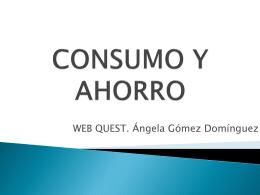 Consumo y Ahorro - WEB EN MANTENIMIENTO