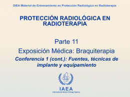 IAEA Training Material on Radiation Protection in …
