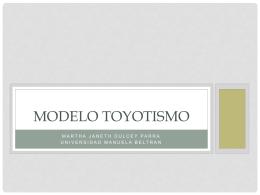 MODELO TOYOTISMO