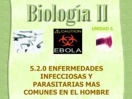 Enfermedades infecciosas y parasitarias en el hombre