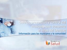 Diapositiva 1 - // Ministerio de Salud // San Luis
