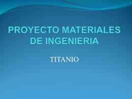 PROYECTO MATERIALES DE INGENIERIA