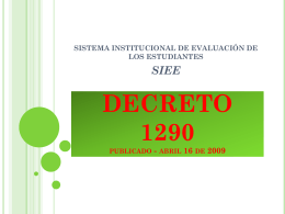 DECRETO 1290 - sandrohernandez
