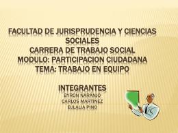FACULTAD DE JURISPRUDENCIA Y CIENCIAS SOCIALES …