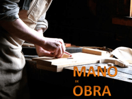 MANO DE OBRA - estudiososahora