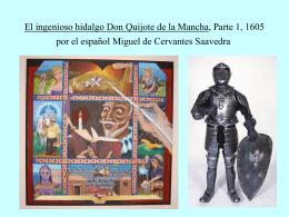 Don Quijtoe Primera Parte