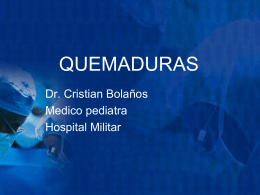 QUEMADURAS - Clases y Libros
