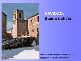 NAVIDAD: Buena Noticia
