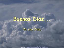 Saludo de Dios